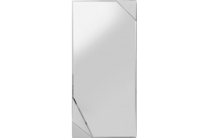 miroir triangle blanc 150x70cm miroir rectangulaire pas cher. Black Bedroom Furniture Sets. Home Design Ideas