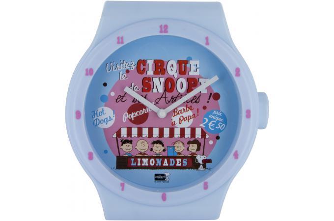 Montre Murale Geante Violet Horloge Design Pas Cher