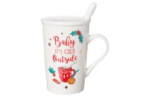 Mug Baby It\'s Cold Outside EXCUSE - Salle a manger crazy deco