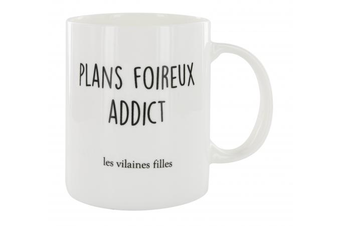 Mug La Chaise Longue Plans Foireux Addict BADGIRL
