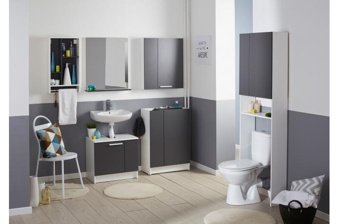 niche rangement murale latest comment amnager petite salle de bain ides et astuces wash room. Black Bedroom Furniture Sets. Home Design Ideas