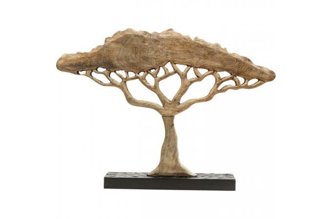 Objet décoratif kare design arbre namibie