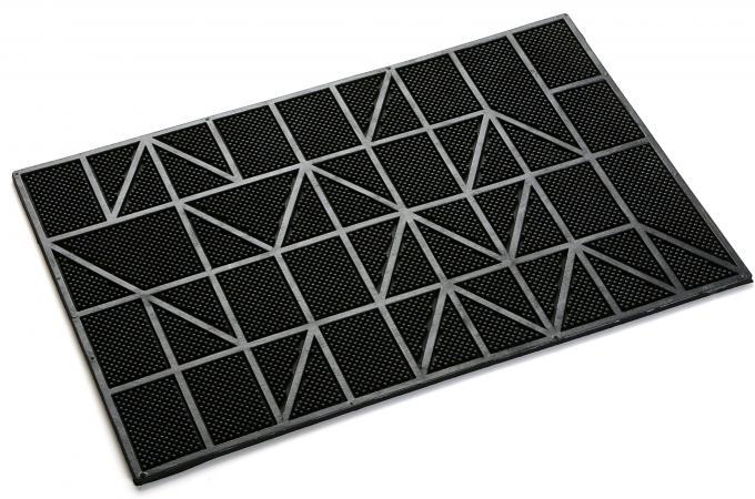paillaisson en caoutchouc impression lignes geometrika. Black Bedroom Furniture Sets. Home Design Ideas