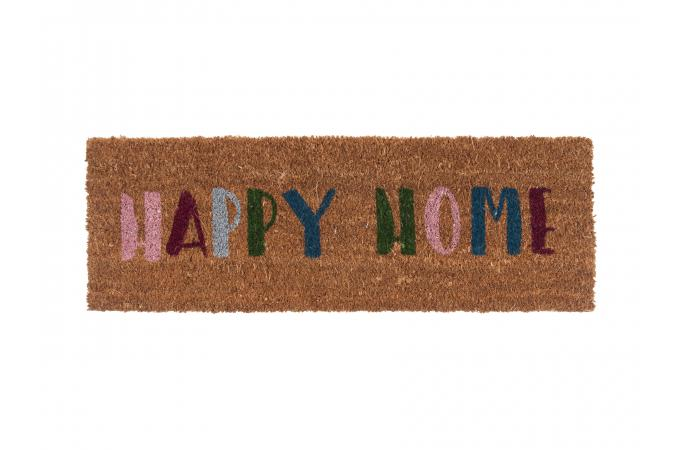 Paillasson Fibres Coco Multicolore Happy Home Dessouk Plus Dinfos