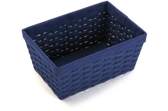 panier a linge rectangulaire bleu kos panier linge pas cher. Black Bedroom Furniture Sets. Home Design Ideas