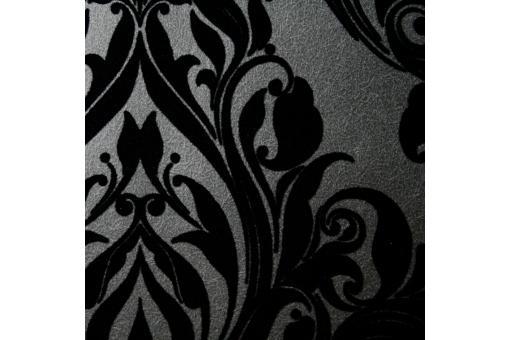 papier peint baroque vintage noir papier peint ville pas. Black Bedroom Furniture Sets. Home Design Ideas