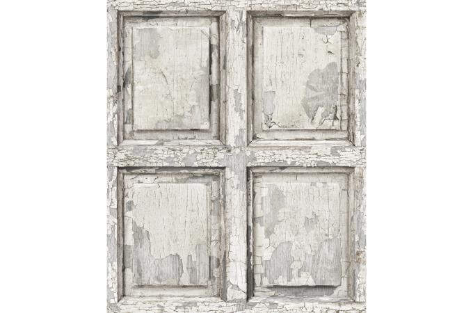 papier peint boiserie anglaise antique blanc limos. Black Bedroom Furniture Sets. Home Design Ideas
