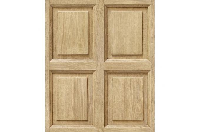 papier peint boiserie anglaise ch ne clair limos papier peint bois m tal pas cher. Black Bedroom Furniture Sets. Home Design Ideas