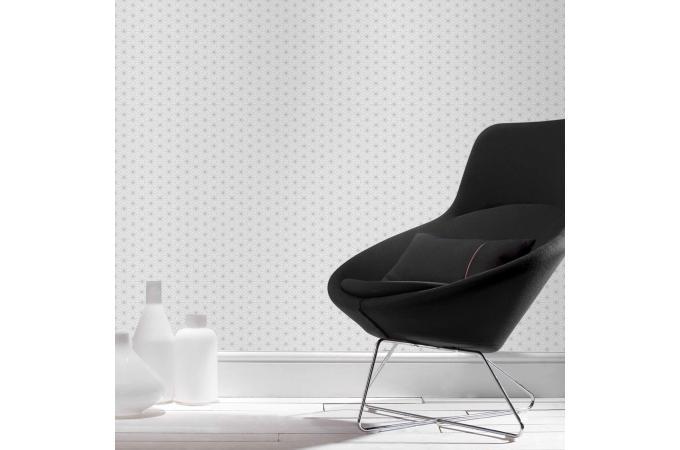 papier peint origami blanc gris papier peint ville pas cher. Black Bedroom Furniture Sets. Home Design Ideas