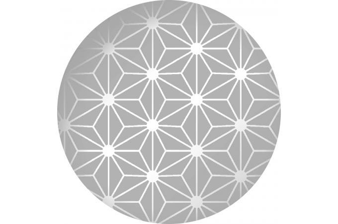 papier peint origami gris papier peint zen pas cher. Black Bedroom Furniture Sets. Home Design Ideas
