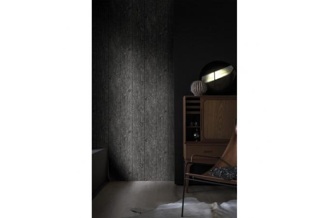 papier peint planches de bois brul corus papier peint bois m tal pas cher. Black Bedroom Furniture Sets. Home Design Ideas