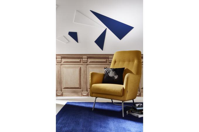 papier peint style trompe l 39 il soubassement impression r tro marron clair malvina papier. Black Bedroom Furniture Sets. Home Design Ideas
