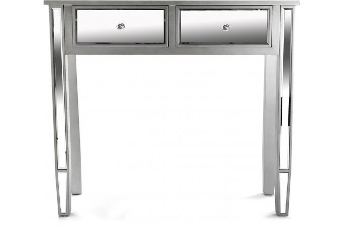 Petite console miroir 2 tiroirs masala console pas cher - Console miroir pas cher ...