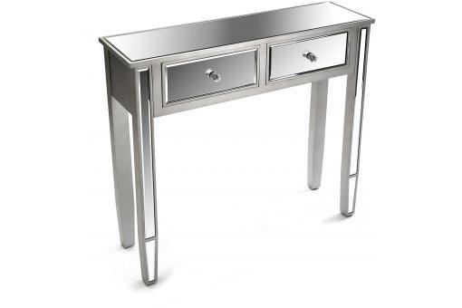 petite console miroir 2 tiroirs masala console pas cher. Black Bedroom Furniture Sets. Home Design Ideas