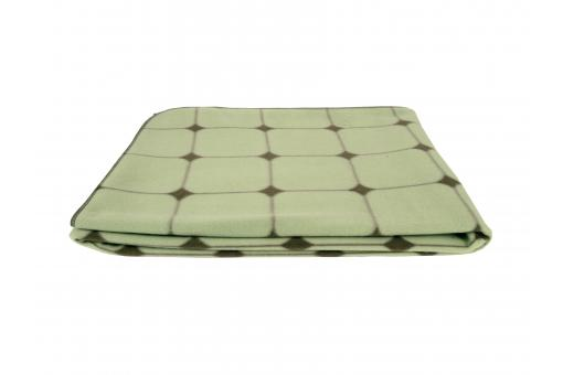 Plaid A Carreaux Vert QENA - Plaid design