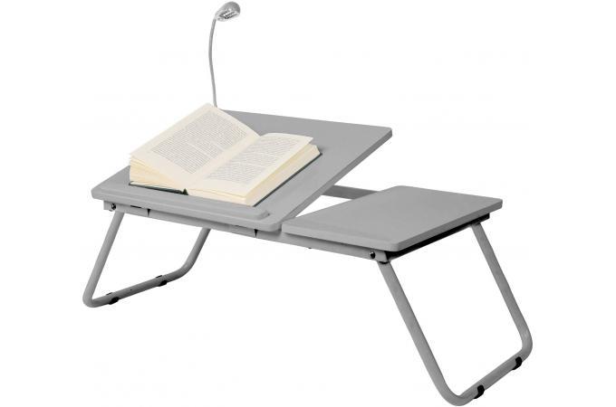 plateau pour ordinateur gris sheridan accessoire. Black Bedroom Furniture Sets. Home Design Ideas