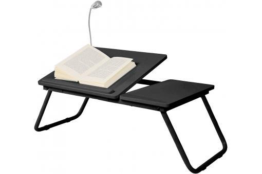 Plateau pour ordinateur noir sheridan accessoire & caisson bureau