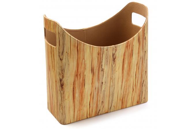 porte revues impression bois youvia porte revue pas cher. Black Bedroom Furniture Sets. Home Design Ideas