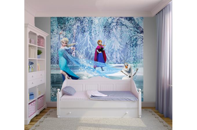 poster xxl elsa sur glace 2 54x2 76 la reine de neiges. Black Bedroom Furniture Sets. Home Design Ideas