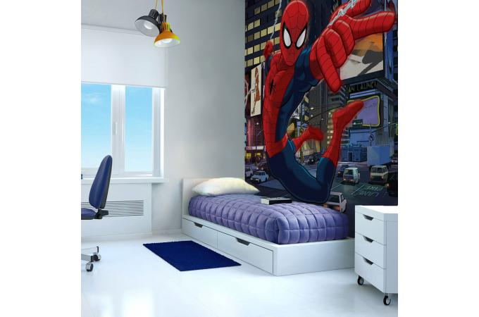poster xxl spiderman 2 54x2 76 tableau junior pas cher. Black Bedroom Furniture Sets. Home Design Ideas