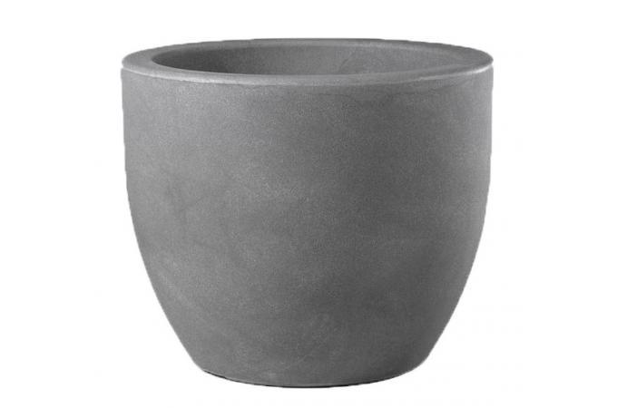 pot de fleur 52 x h43 cm gris amareto vase pas cher. Black Bedroom Furniture Sets. Home Design Ideas