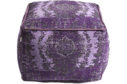 pouf kelim pop lilas pouf design pouf g ant pas cher. Black Bedroom Furniture Sets. Home Design Ideas
