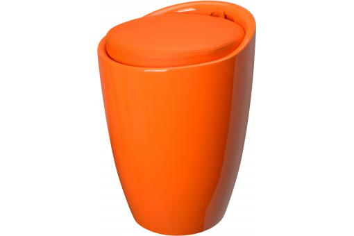 Pouf La Chaise Longue Orange POP