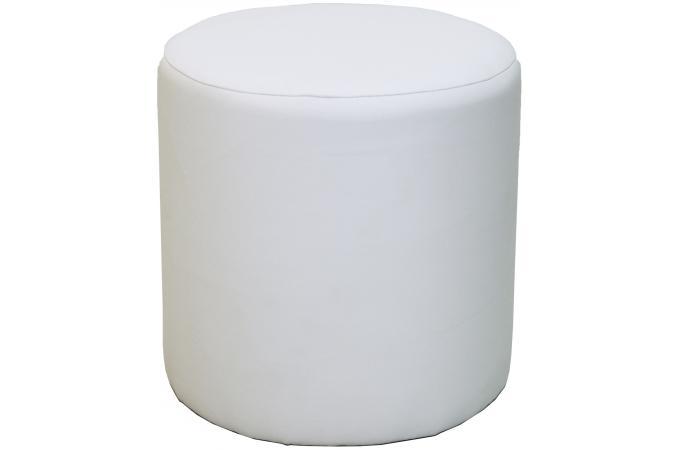 pouf rond blanc cliffhanger pouf design pouf g ant pas cher. Black Bedroom Furniture Sets. Home Design Ideas