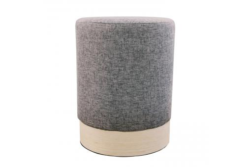 Pouf scandinave 30cm Anthracite BETTINA - Pouf design pouf geant