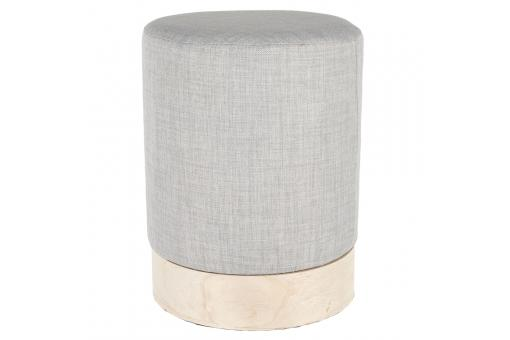 Pouf scandinave 30cm Gris BETTINA - Pouf design pouf geant