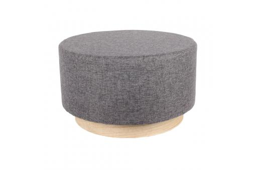 Pouf scandinave 60cm Anthracite BETTINA - Pouf design pouf geant
