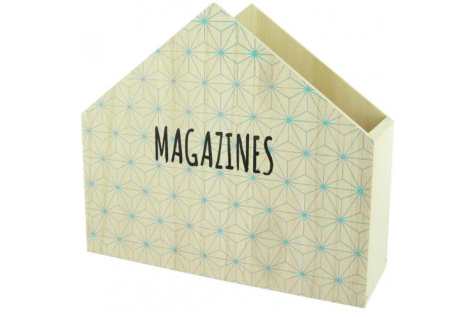 Range magazines en bois magazines homa porte revue pas cher - Range revue pas cher ...