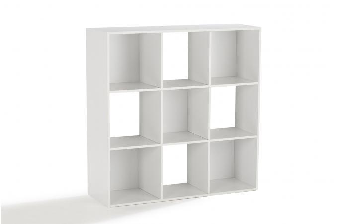 Rangement 9 Cases Blanc MOLLY