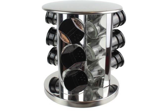 Verre Carrousel Pots Epices9 En A Derek Cuisine Accessoires wO0n8kP