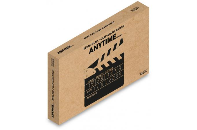 Cinéma 23x3x22 Noir Réveil Clap D'infos Film Plus rxdCeBo