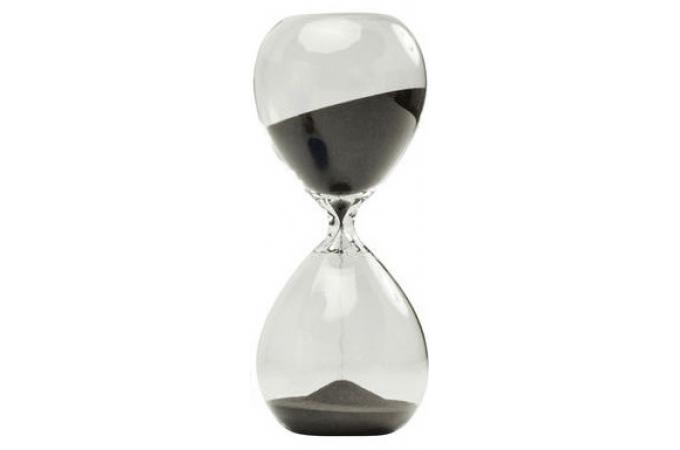 sablier kare design noir 30 minutes timer statue design. Black Bedroom Furniture Sets. Home Design Ideas
