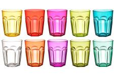Set De 10 Verres A Shot Multicolores - Service cafe the design