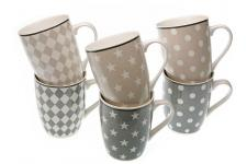 Set de 6 mugs scandinaves AMITA - Mug et verre design