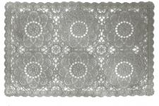 Set De Table Impressions Dentelles Gris LACEWORK - Couvert menagere design