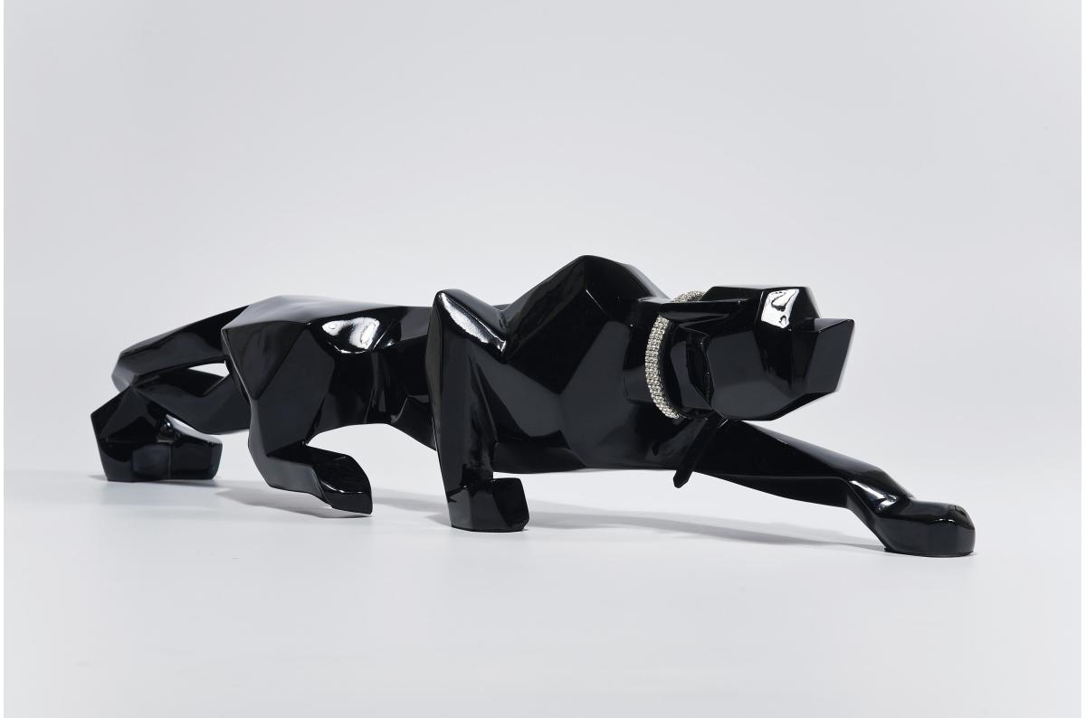 Kare Design Figurine panth/ère Noir