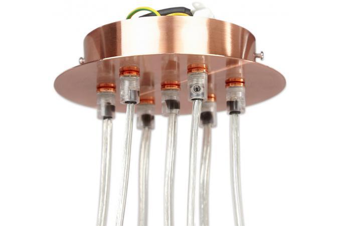 Supension multiple cuivre sku suspension pas cher for Suspension multiple cuisine
