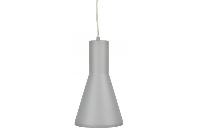 suspension cone gris suspension pas cher. Black Bedroom Furniture Sets. Home Design Ideas