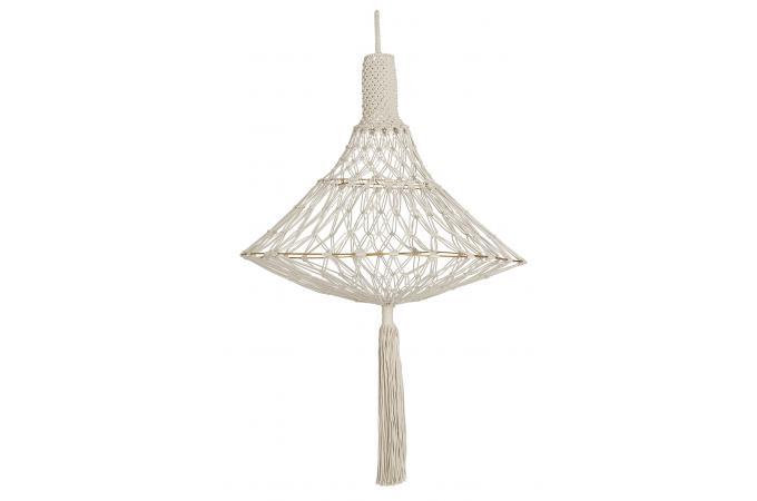 suspension macram crochet suspension pas cher. Black Bedroom Furniture Sets. Home Design Ideas