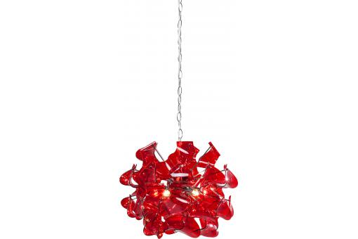 Suspension Spago rouge - Lustre et suspension design