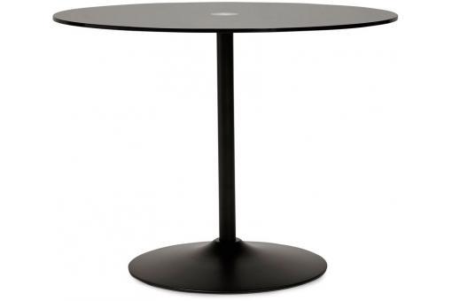 Table manger blanche design plateau en verre bloom table manger pas cher - Table a manger en verre design pas cher ...