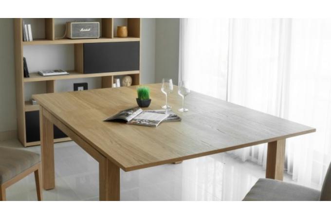table manger extensible 140 190 en ch ne massif copa table manger pas cher. Black Bedroom Furniture Sets. Home Design Ideas