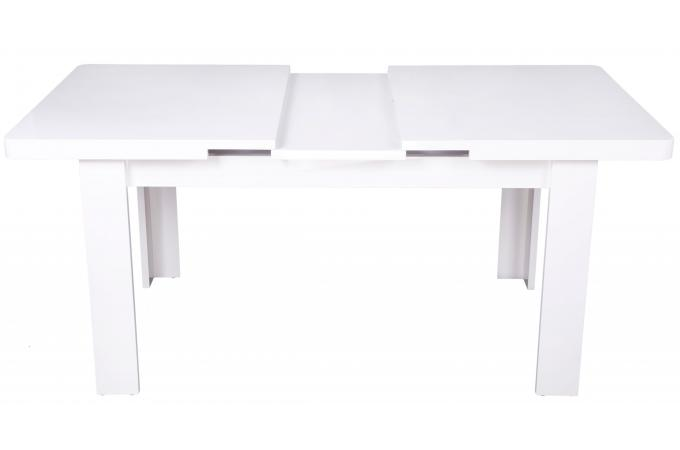 Table manger extensible blanc inerti table salle - Table salle a manger extensible conforama ...