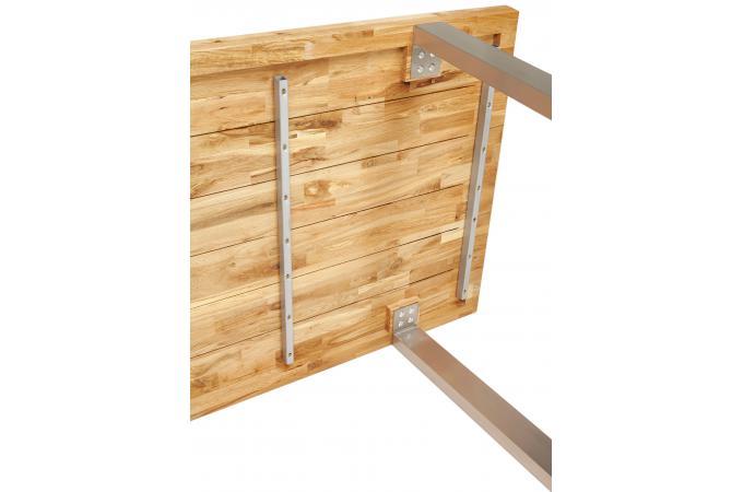 table manger industrielle bois et m tal swot table manger pas cher. Black Bedroom Furniture Sets. Home Design Ideas