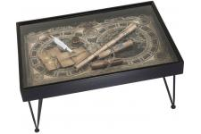 Table Basse 100x70 cm COLLECT MAPS - Table basse kare design