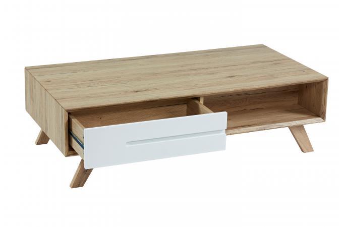 table basse avec rangements en pin massif nestor table basse pas cher. Black Bedroom Furniture Sets. Home Design Ideas